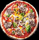 """It was really great Italian pizza"""