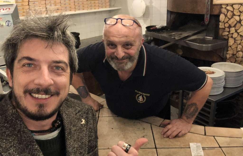 Paolo Ruffini alla Bottega della pizza